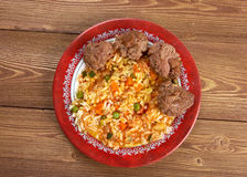 Jollof ryż Obrazy Royalty Free