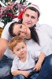 Jolly Christmas portrait Stock Photography