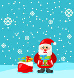 Jolly Christmas Santa  Royalty Free Stock Images