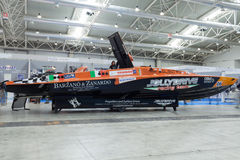 Jolly Drive Racing Boat Stock Photo