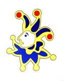 jolly kortjoker royaltyfri bild