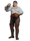 Jolly Pirate Drinking Grog. Jolly pirate swilling a jug of grog, 3d digitally rendered illustration Stock Image