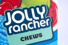 Jolly Rancher Chews royaltyfria bilder
