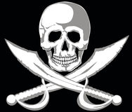 jolly roger Royaltyfri Foto
