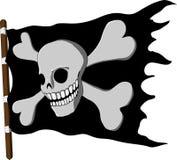 Jolly Roger stock illustrationer