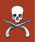 Jolly Roger royaltyfri illustrationer