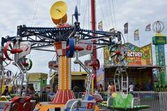 Jolly Roger Amusement Park i havstaden, Maryland royaltyfri bild