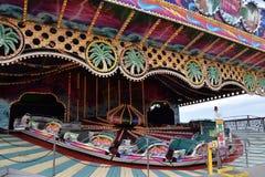 Jolly Roger Amusement Park i havstaden, Maryland royaltyfria foton