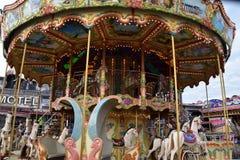 Jolly Roger Amusement Park i havstaden, Maryland arkivfoton
