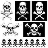 Jolly Roger illustrations Royalty Free Stock Photo