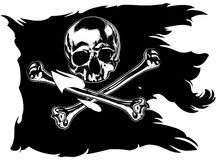 Jolly Roger Royalty Free Stock Image