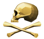 Jolly Roger Side View Royalty Free Stock Photo