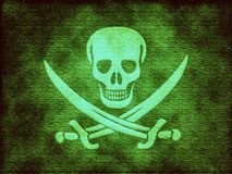 Jolly Roger skull Royalty Free Stock Photos
