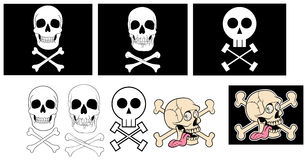 Jolly rogers Royalty Free Stock Photos