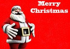 Jolly Santa Royalty Free Stock Photo