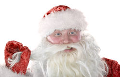 Jolly Santa Claus Royalty Free Stock Images