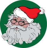 Jolly Santa Royalty Free Stock Photos