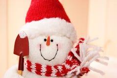 Jolly Snowman stock image