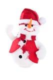 Jolly snowman Stock Photos