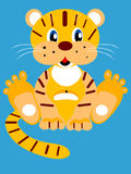 Jolly Tiger cub Stock Photos