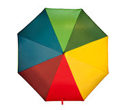 Jolly Umbrella - overhead view. Stock Images
