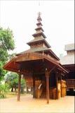 Jom Swan Burmese temple in Phrae,Thailand Stock Image