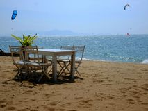 Jomtien海滩 免版税库存图片