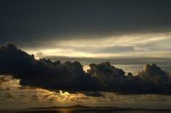 Jomtien cloudy sky Stock Photography