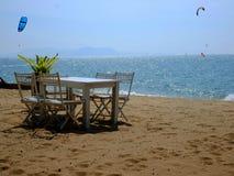 Jomtien strand royaltyfria bilder