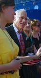 Jon Alpert no festival de película internacional de Moscovo Imagens de Stock