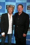 Jon Bon Jovi,Al Gore Royalty Free Stock Photo