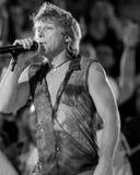 Jon Bon Jovi. Lead singer for the band Bon Jovi, Jon Bon Jovi. (Image taken from the B&W negative royalty free stock images