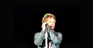 Jon Bon Jovi 2013 Royalty Free Stock Photos