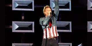 Jon Bon Jovi 2013 Stock Images