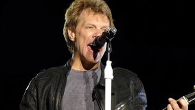Jon Bon Jovi Stock Photography
