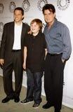 Jon Cryer, Angus T Τζόουνς και Charlie Sheen Στοκ εικόνα με δικαίωμα ελεύθερης χρήσης
