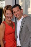 Jon Cryer,Lisa Joyner Royalty Free Stock Photos