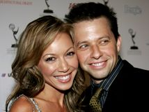 Jon Cryer and Lisa Joyner Royalty Free Stock Photo