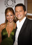 Jon Cryer and Lisa Joyner Stock Photography