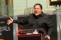 Jon Favreau, Mickey Rourke Royalty Free Stock Photos