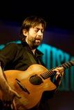 Jon Gomm Phasen bei Spaziomusica Pavia lizenzfreies stockfoto
