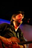 Jon Gomm sous tension Photos libres de droits