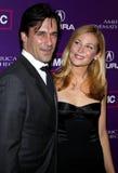 Jon Ham och Jennifer Westfeldt Royaltyfria Bilder