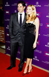 Jon Hamm e Jennifer Westfeldt Fotos de Stock
