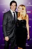 Jon Hamm e Jennifer Westfeldt Imagens de Stock
