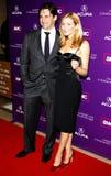 Jon Hamm e Jennifer Westfeldt Imagem de Stock