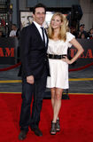 Jon Hamm and Jennifer Westfeldt Royalty Free Stock Photography