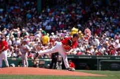 Jon Lester, Boston Red Sox Stock Photo