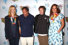 Jon Lovitz, Lisa Kudrow, Dana Carvey, Tia Carrere stockbild
