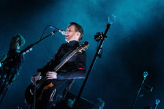 Jon Por Birgisson, also known as Jonsi, lead singer of Sigur Ros Stock Image